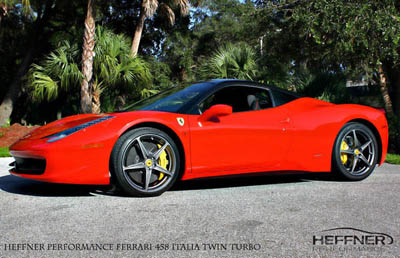 Ferrari 458 Italia Twin-Turbo от Heffner Performance